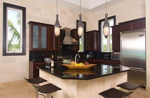 Prefabricated Granite Countertops: Absolute Black