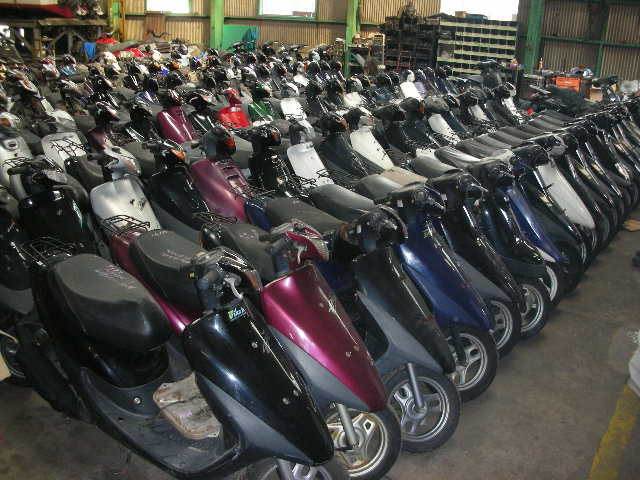 used Motorcycles, Scooters from Japan