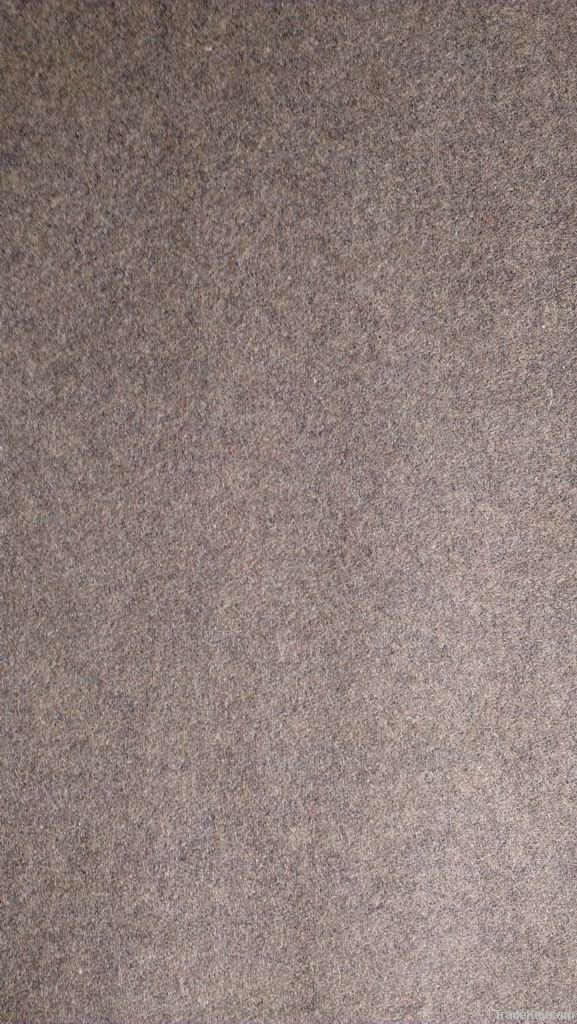 Wool mix melton fabric