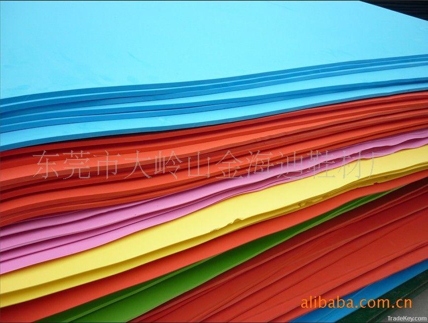 EVA outsole material sheet