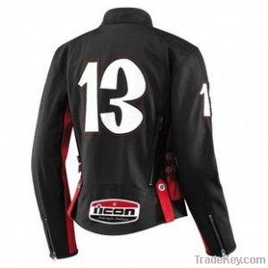 icon hella crossbone women leather jacket