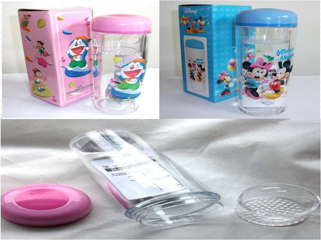 Top quality cup, plastic cup, ABS cup, cartoon cup