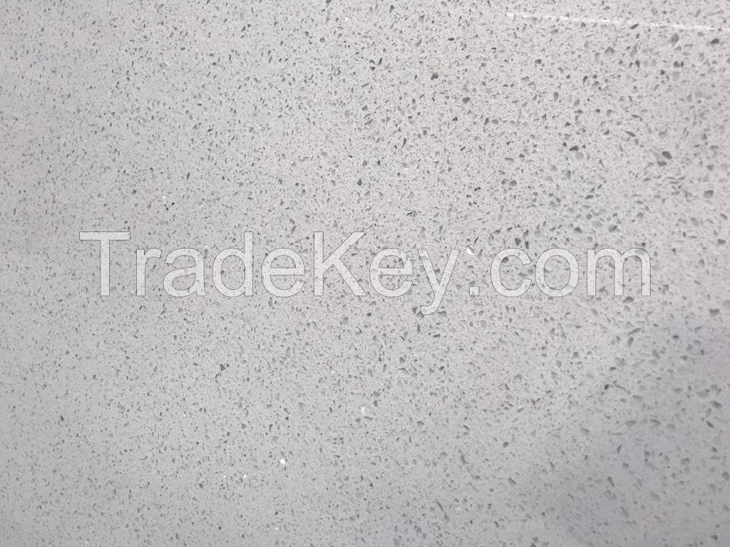 Sparkle white quartz