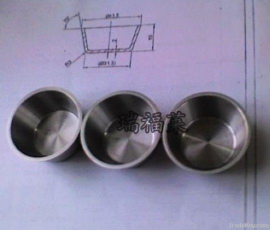 Tungsten Molybdenum Laboratory Crucible