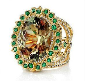 Alexandrite engagement ring YFR187