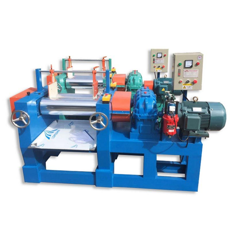 4inch LAB Two Roll Open Type Rubber Mixing Mills Machine