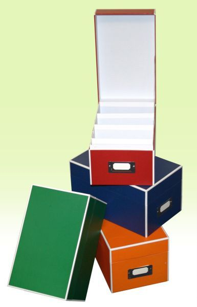 Picture- and CD box in different colors
