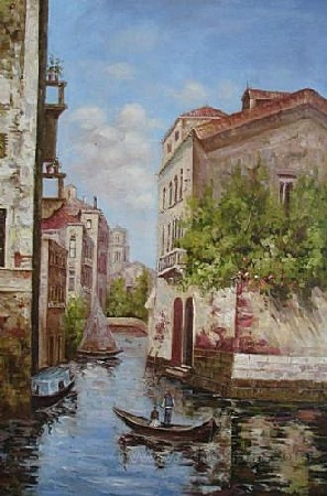 Landscape Oil Paintings, Venice Oil Paitnings, Abstract Oil Paintings