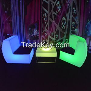 Plastic LED Light  Bar Table For Party Event Wedding Use