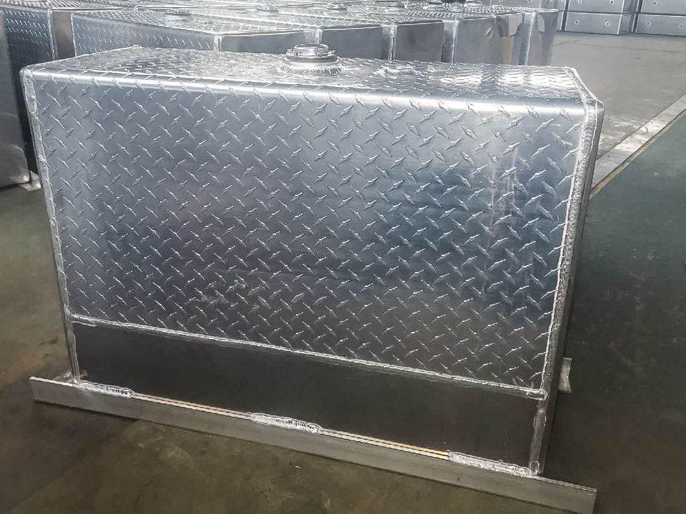 High quality aluminium alloy fuel tank