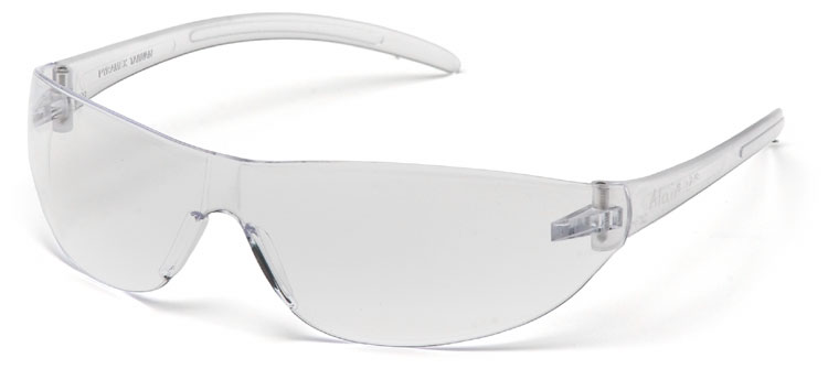 pyramex alair clear saftey glasses