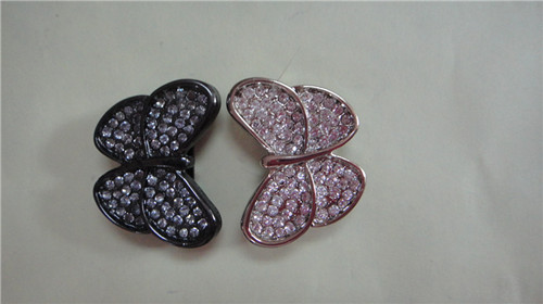 2011 new arrival butterfly decorative accessories for women shoes