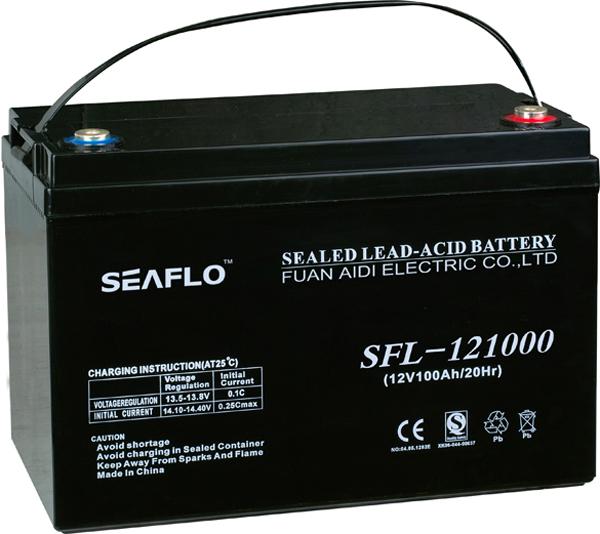 VRLA maintenance free battery12V100Ah