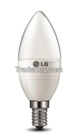 LG LED Lights Candle 5W 300lm 2700K E14 C0527EA4T42 (Frosted)