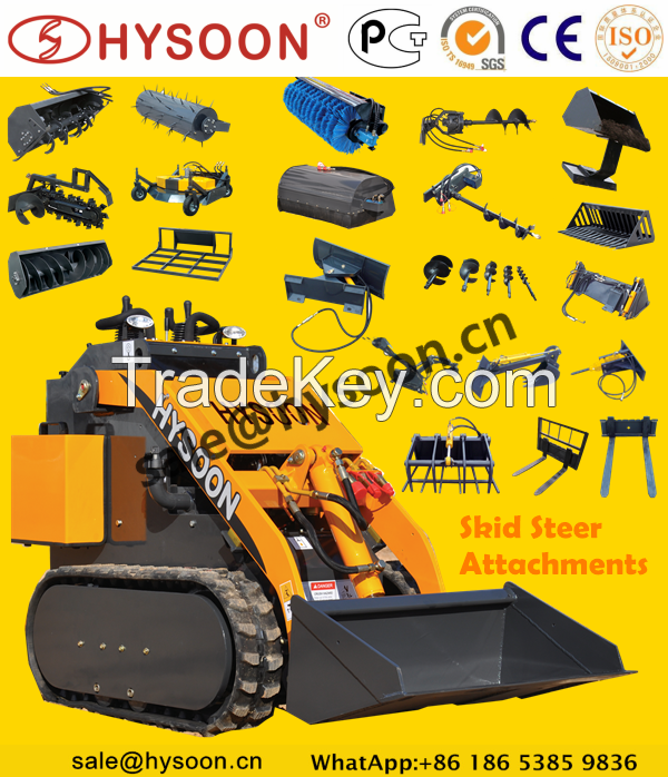 skid steer attachment for mini skid steer loader
