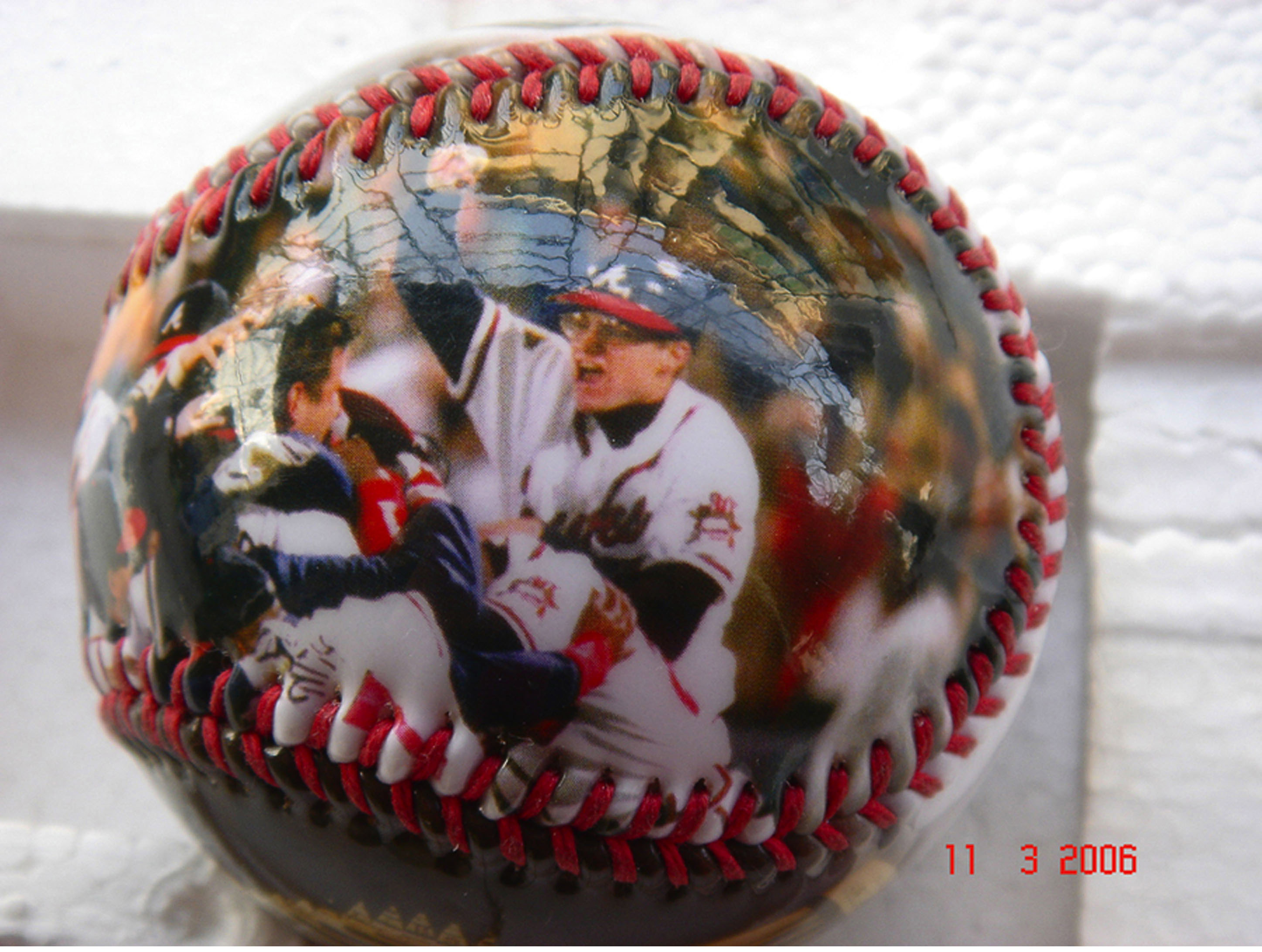 Custom Image Photo Imprinted Sports Baseball