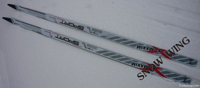 winter skis of adult