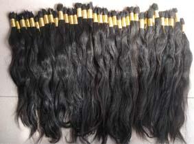 Virgin Natural Human Hair Bulk