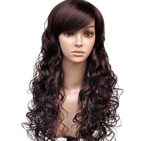 Heat resistance synthetic wig
