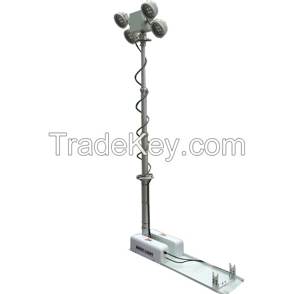 vehicle roof mounted move lighting system 240W LED