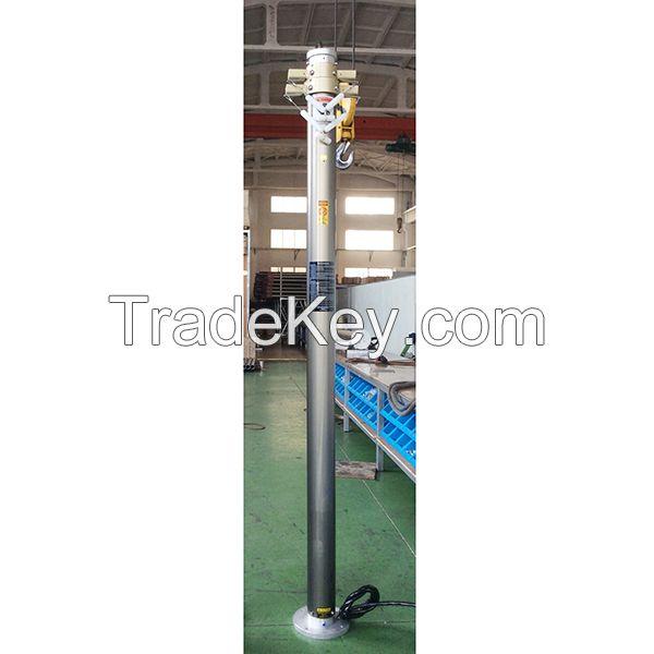 CCTV pneumatic telescopic masts, surveillance mast, pneumatic mast
