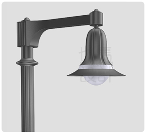 Classical path lights design