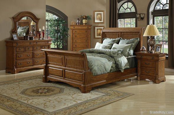 bedroom set high quality wooden