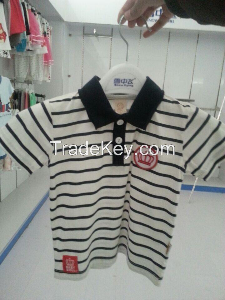 fashion kids cotton polo-shirts