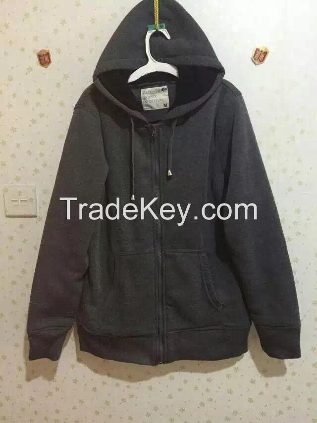mens sherpa zip hoodie