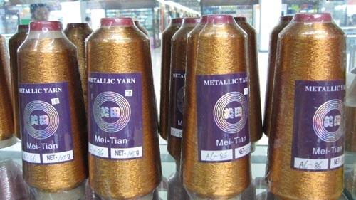 St-type metallic yarn