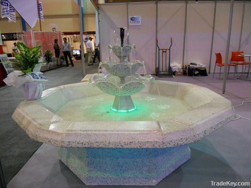 Fiberglass Octagonal Decorative Pond