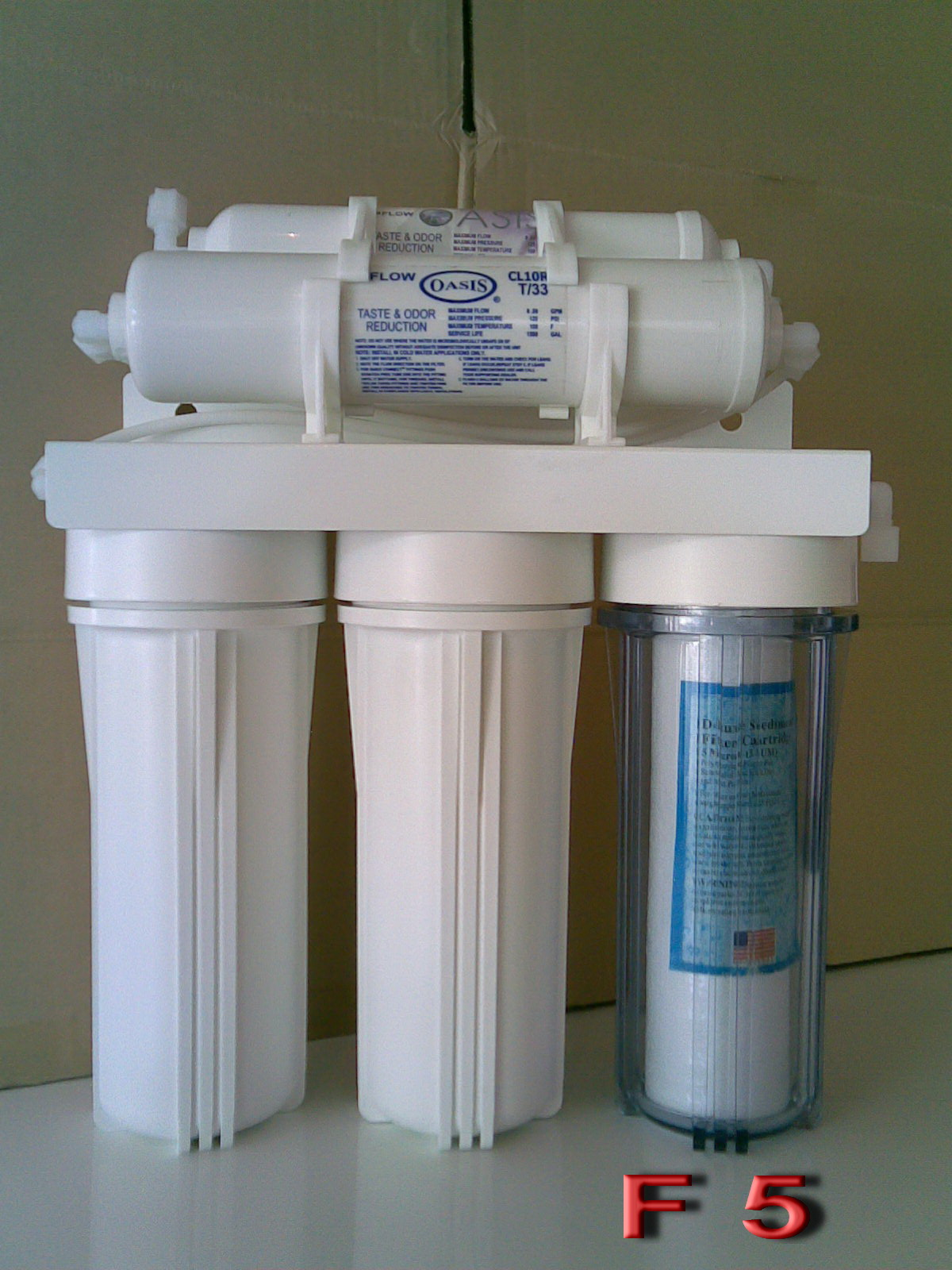 RO drinking water filter components