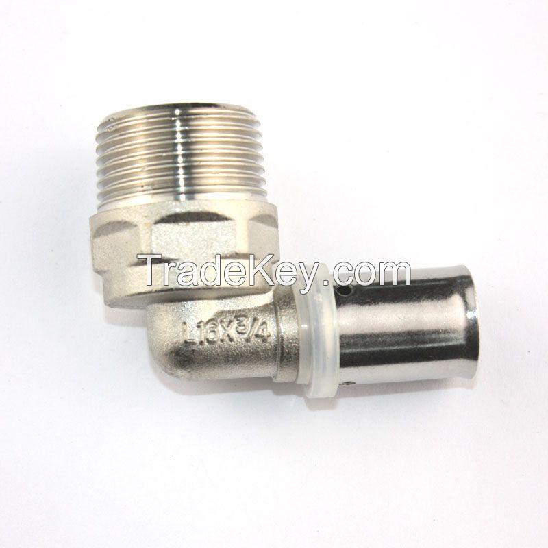 brass press fitting
