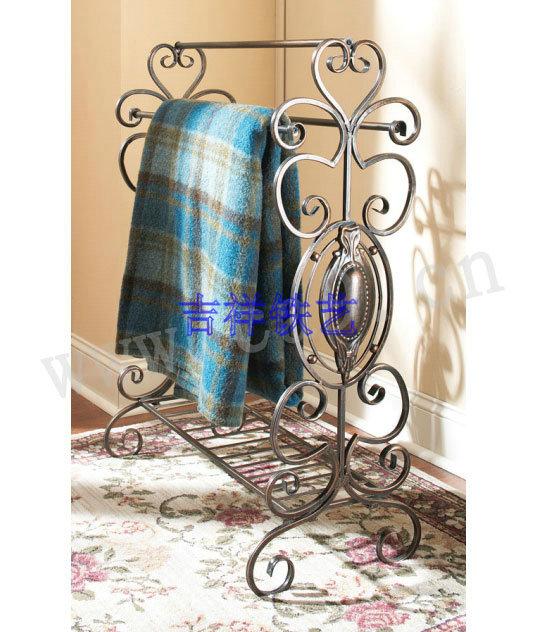 iron towel rack