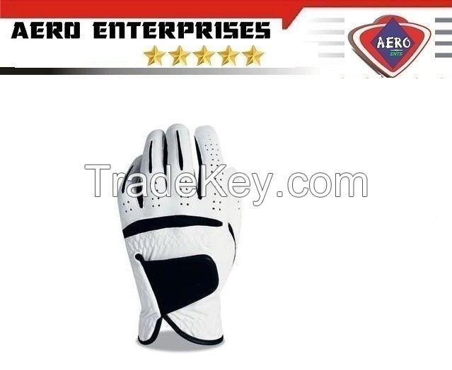 Premium Quality Cabretta Leather Golf Gloves