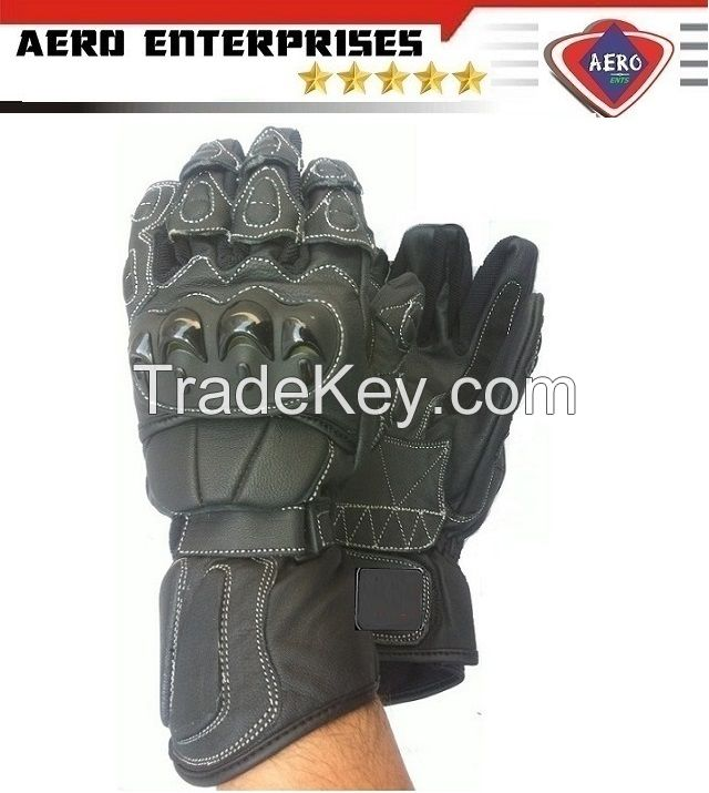 Latest Motorcycle Leather Gloves For Men