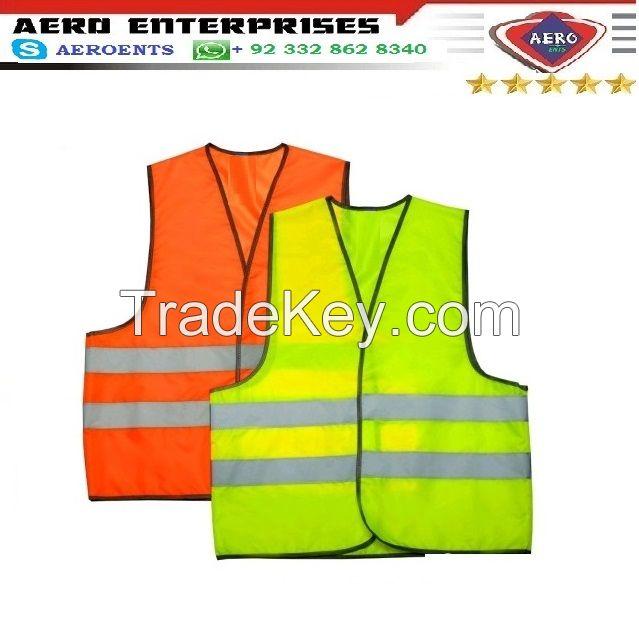 Custom Traffic Work High Visibility Security EN20471 Reflective Road Vests