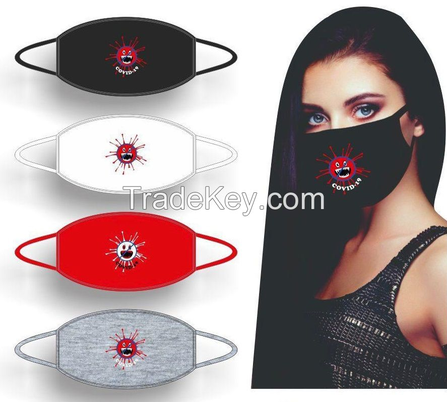 Face Mask Protection Germ Dust Mask Women Men Covid 19 Protection