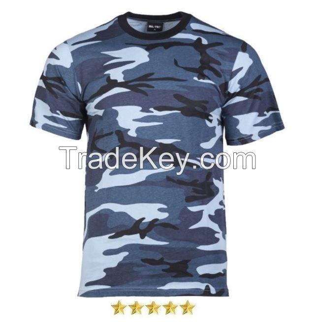 Premium Quality Grey Camo Shirt