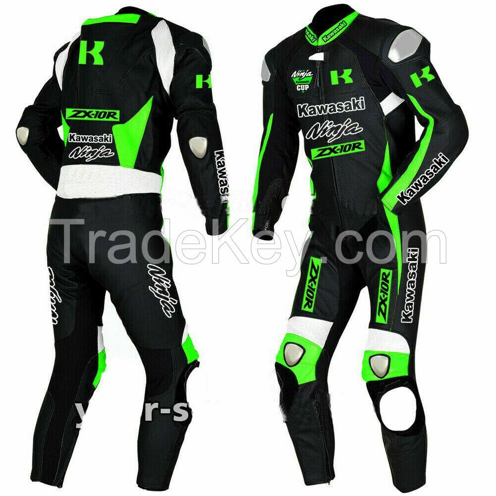Brand Custom Motorcycle Racing Leather Suit