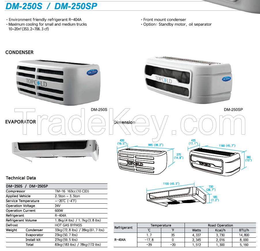 Truck Transport Refrigeration System DM-250S / DM-250SP