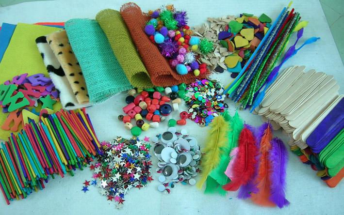 Craft Materials Display By Dalian Kangda Arts Crafts Co Ltd China