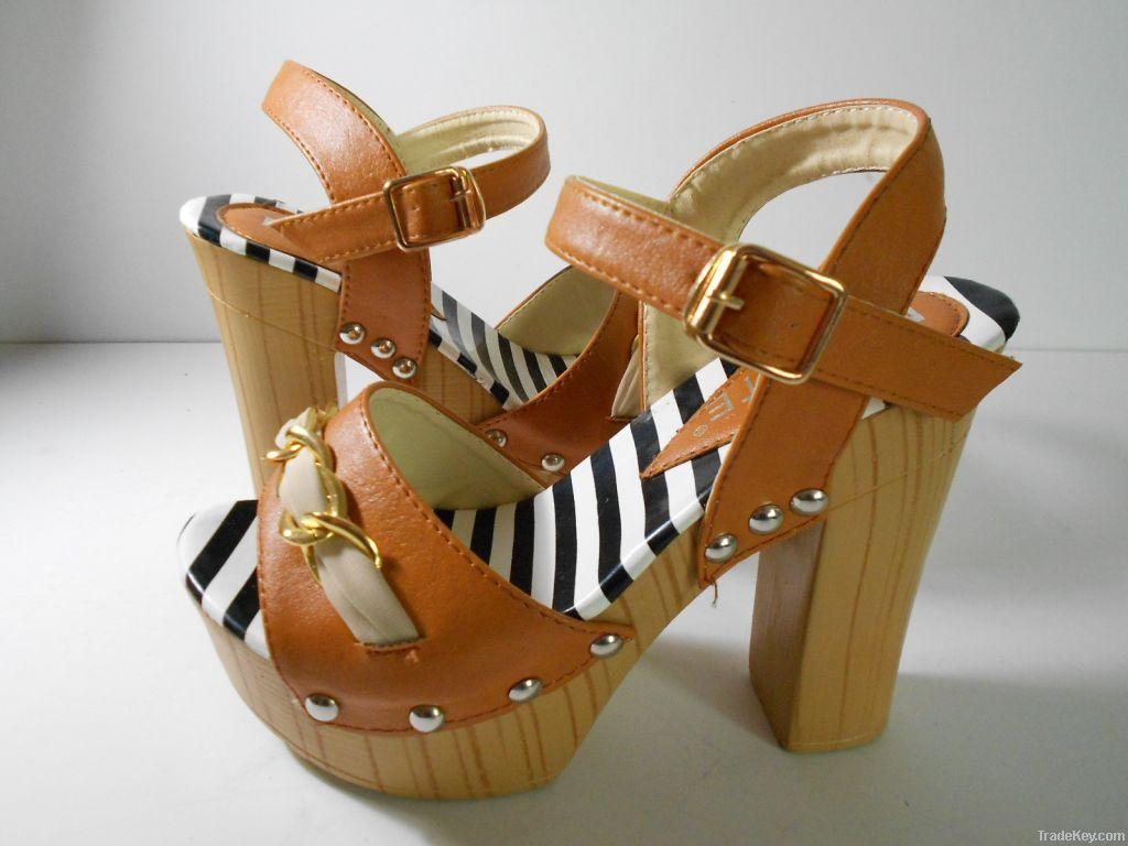 2013 spring summer new design ladies fashion cheap sandal