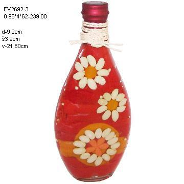 Glass Culinary Art Bottles