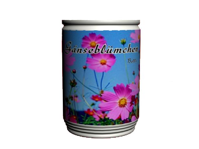 Can flower, magic flower, mini plant, mini garden,
