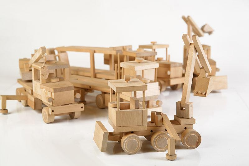 """Road Constructor"" Wooden Kit"