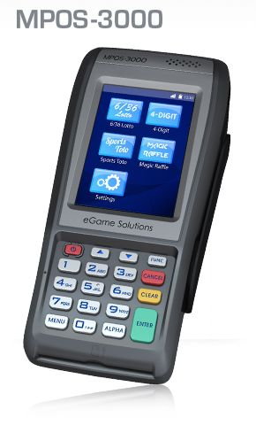 Mobile GPRS Lottery Terminal