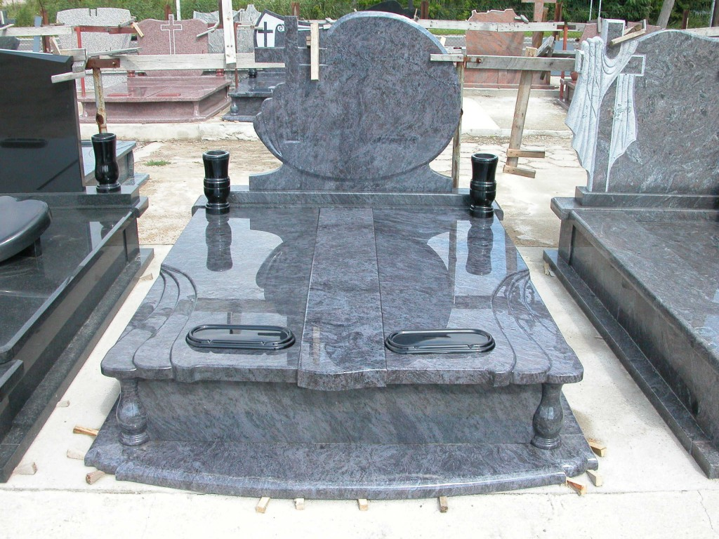 European style tombstone and monuments
