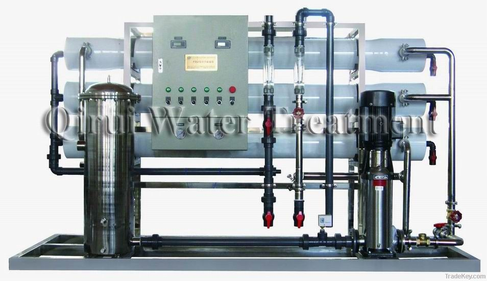 Primary Reverse Osmosis Unit+ Mixed Bed(FSJ-6m3/h-1)