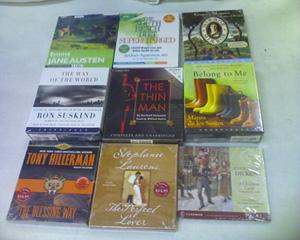 Audiobook CD Pallet - 1000 items